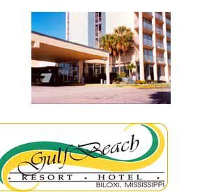 Gulf Beach Resort Hotel In Biloxi Mississippi Hotel