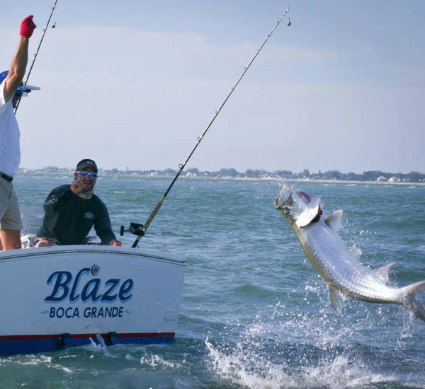 Blaze Tarpon Charters in Boca Grande Florida