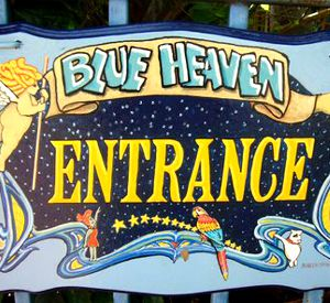 Blue Heaven Restaurant in Key West Florida