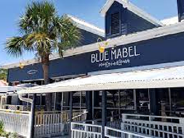 Blue Mabel in Highway 30-A Florida