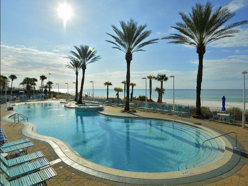 Boardwalk 1405 1 Bedroom Beachfront Wi-Fi Pool Sleeps 4 Condo rental in Boardwalk Beach Resort Panama City in Panama City Beach Florida - #19