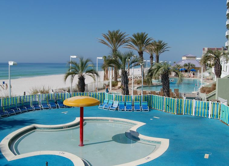 Boardwalk 1405 1 Bedroom Beachfront Wi-Fi Pool Sleeps 4 Condo rental in Boardwalk Beach Resort Panama City in Panama City Beach Florida - #20