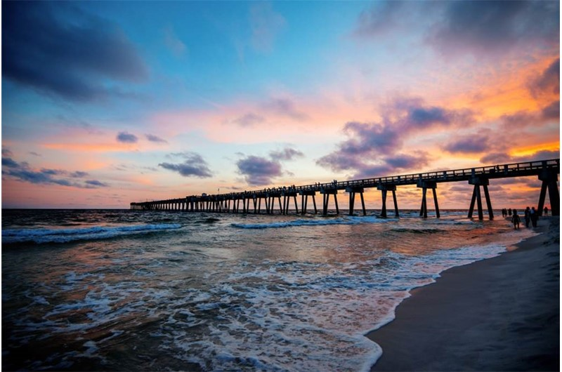 Boardwalk Beach Resort Condos has gorgeous sunset views in Panama City Beach Florida