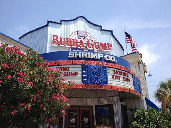 Bubba Gump Shrimp Co. in Destin Florida