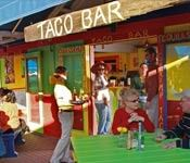 Bud and Alley's Taco Bar in Highway 30-A Florida