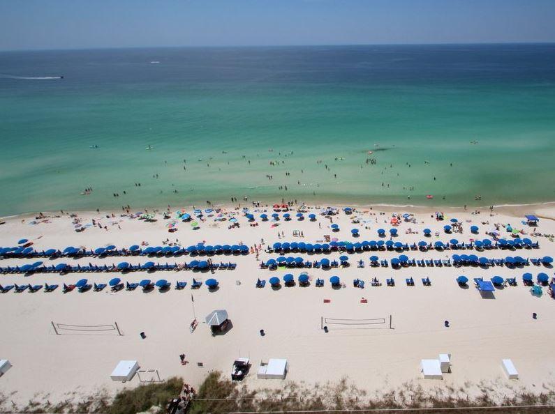 Calypso 1203 East - Tower I 1 Bedroom Beachfront Wi-Fi Sleeps 6 Condo rental in Calypso Resort in Panama City Beach Florida - #3
