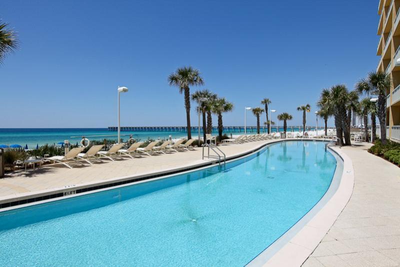 Calypso 1203 East - Tower I 1 Bedroom Beachfront Wi-Fi Sleeps 6 Condo rental in Calypso Resort in Panama City Beach Florida - #4