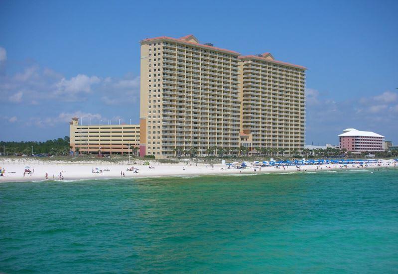 Calypso 1203 East - Tower I 1 Bedroom Beachfront Wi-Fi Sleeps 6 Condo rental in Calypso Resort in Panama City Beach Florida - #19