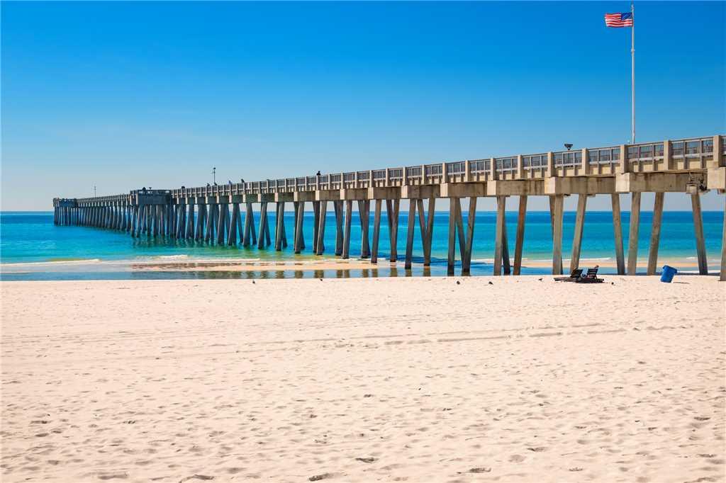 Calypso 1203 East - Tower I 1 Bedroom Beachfront Wi-Fi Sleeps 6 Condo rental in Calypso Resort in Panama City Beach Florida - #28
