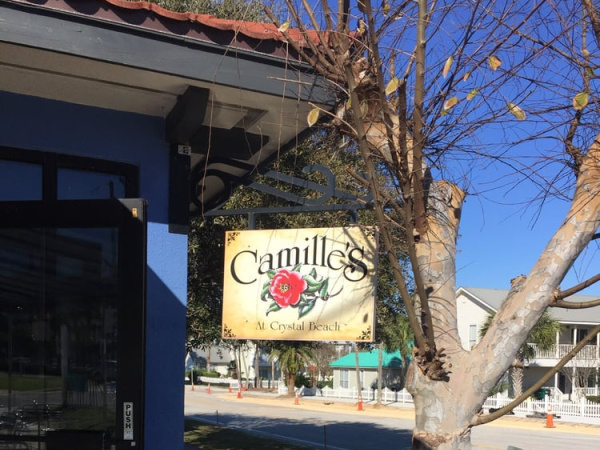 Camille's at Crystal Beach in Destin Florida