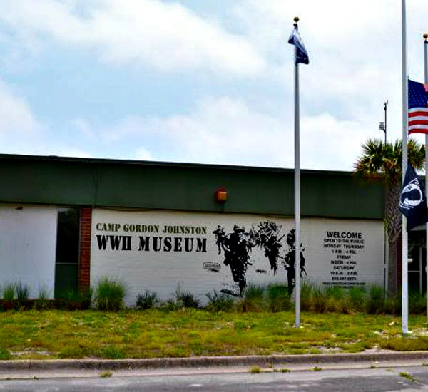 Camp Gordon Johnston Museum in St. George Island Florida