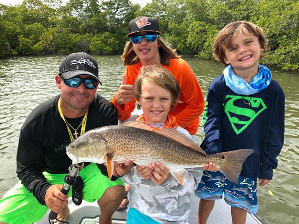 Captain Redfish Rob's Charters in Naples Florida