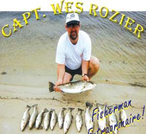 Captain Wes Rozier in Perdido Key Florida