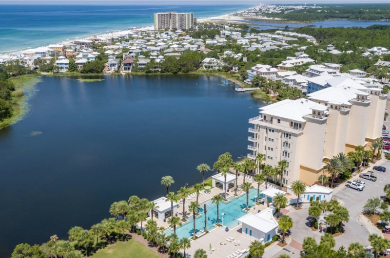 Carillon Beach Resort Inn Panama City Beach Aerial View