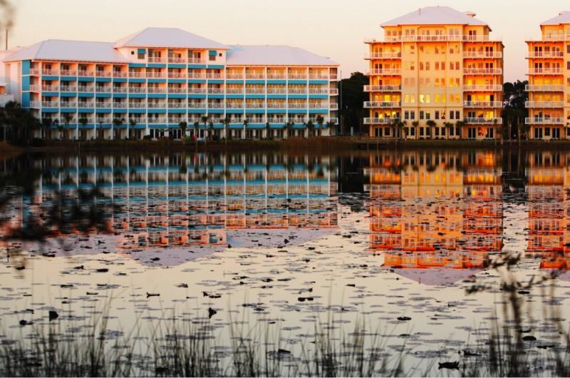 Waterfront Carillon Beach Resort Bay View