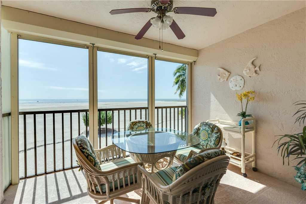 Carlos Pointe 212 2 Bedrooms Heated Pool Gulf Front Elevator Sleeps 4 Condo rental in Carlos Pointe in Fort Myers Beach Florida - #1
