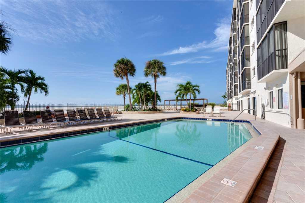 Carlos Pointe 212 2 Bedrooms Heated Pool Gulf Front Elevator Sleeps 4 Condo rental in Carlos Pointe in Fort Myers Beach Florida - #24