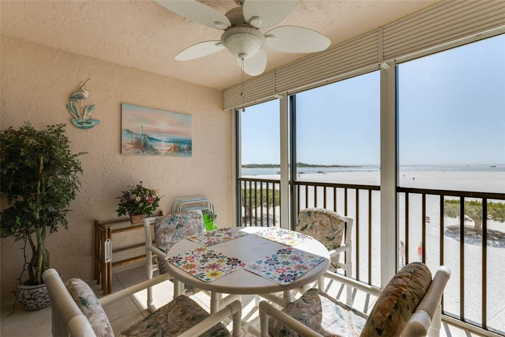 Carlos Pointe 213 2 Bedrooms Gulf Front Elevator Heated Pool Sleeps 4 Condo rental in Carlos Pointe in Fort Myers Beach Florida - #1