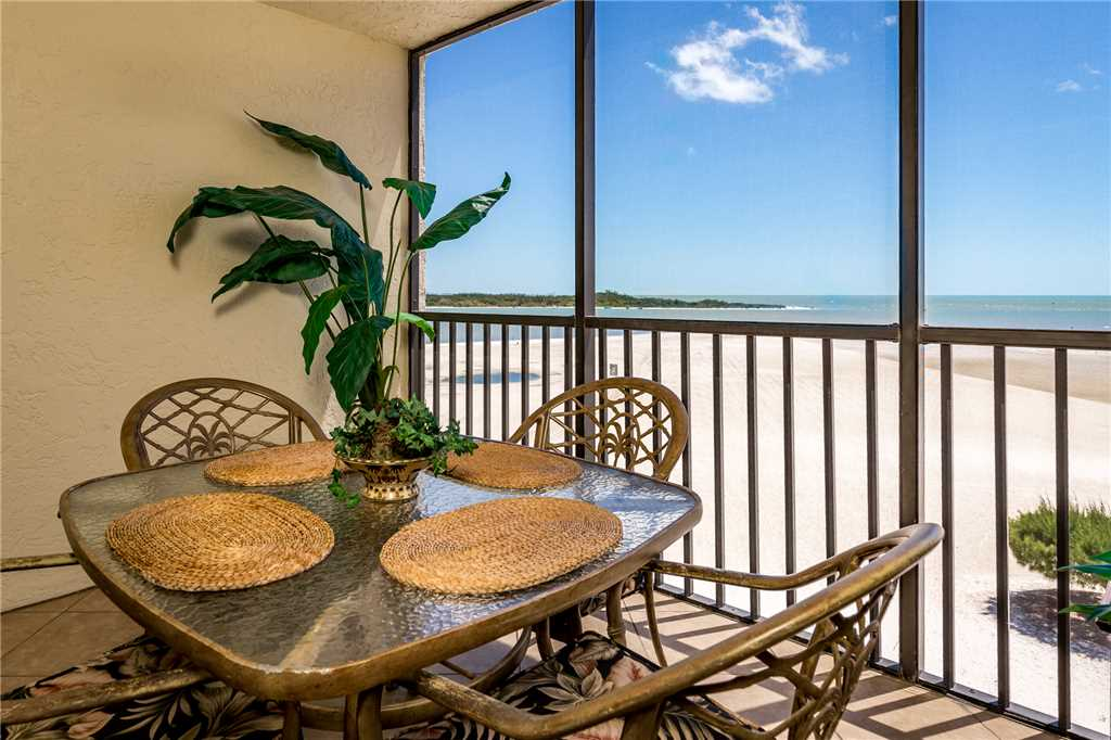 Carlos Pointe 413 2 Bedrooms Gulf Front Elevator Heated Pool Sleeps 6 Condo rental in Carlos Pointe in Fort Myers Beach Florida - #1