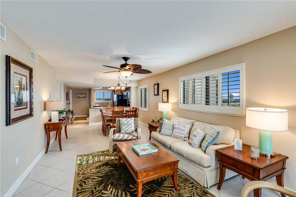 Carlos Pointe 611 Elevator 2 Bedrooms Gulf Front  Heated Pool Sleeps 6 Condo rental in Carlos Pointe in Fort Myers Beach Florida - #7