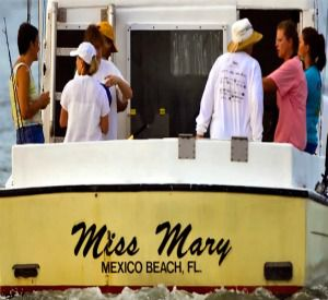 Charter Boat Miss Mary in Mexico Beach Florida
