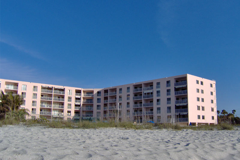 Beachfront Reef Club Condominiums in Indian Shores FL