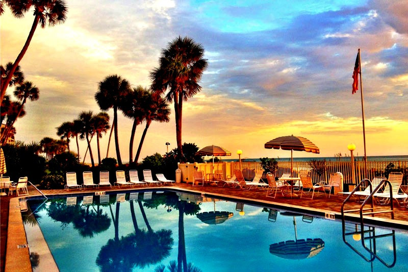 Private Beach With Pool Weekly Rental Clearwater Beach
