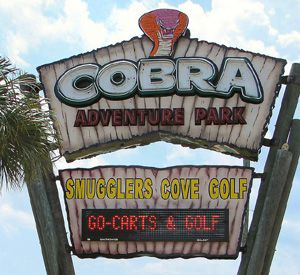 Cobra Adventure Park in Panama City Beach Florida