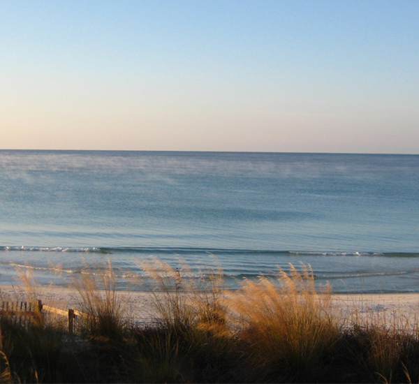 Beach view from Complete TLC in Panama City Beach FL