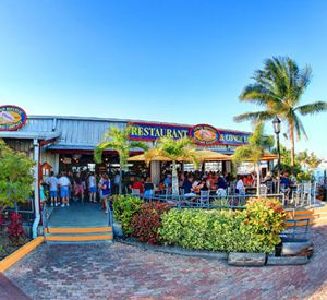 Conch Republic Seafood Company in Key West Florida