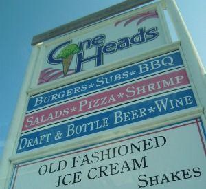 Cone Heads in Cape San Blas Florida
