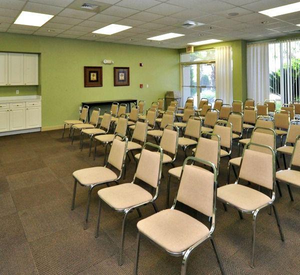 The conference center at the Crescent Condominium   in Destin Florida