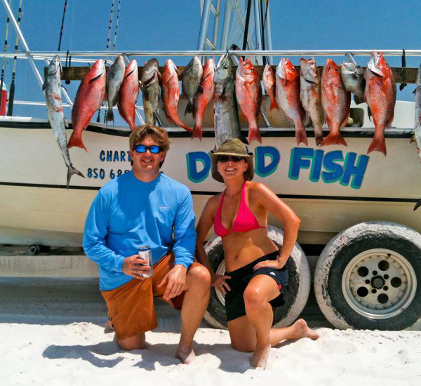 Dead Fish Charters in Highway 30-A Florida