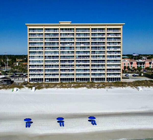Beach view at Destin Gulfgate Condominiums in Destin FL