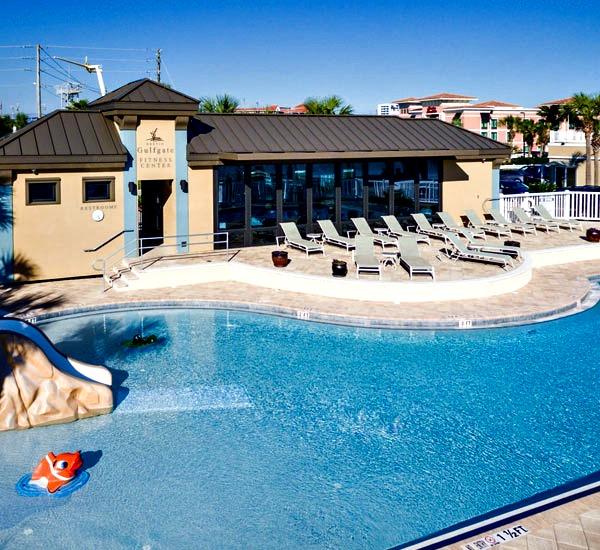 Outdoor pool at Destin Gulfgate in Destin FL