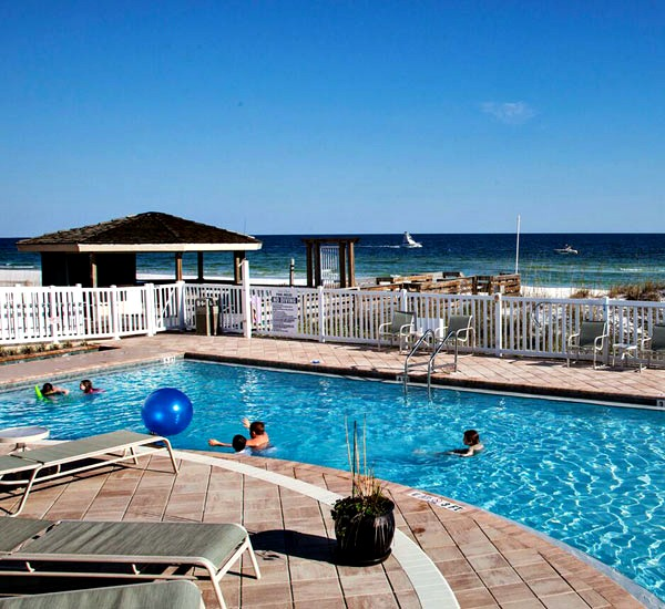 Beachfront pool at Destin Gulfgate in Destin FL