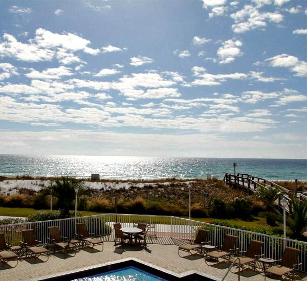 View of the property at Destin on the Gulf Condos in Destin Florida