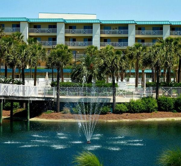 Two bedroom units with a gulf view at Amalfi Coast Resort  in Destin Florida.