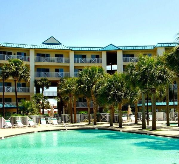 One of two pools at the Amalfi Coast Resort  in Destin Florida.