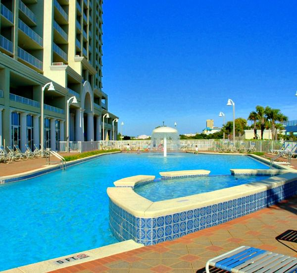 Swimming pools at Ariel Dunes in Destin Florida.