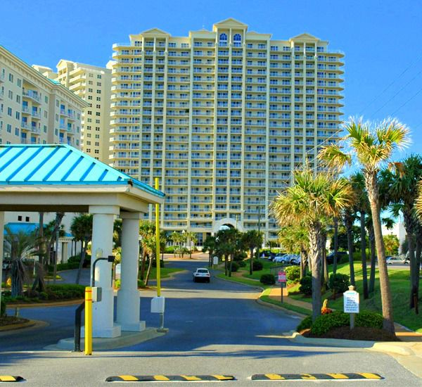 Gated entrance at Ariel Dunes in Destin Florida.
