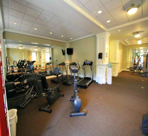 Fitness center at Bahia Resort in Destin FL
