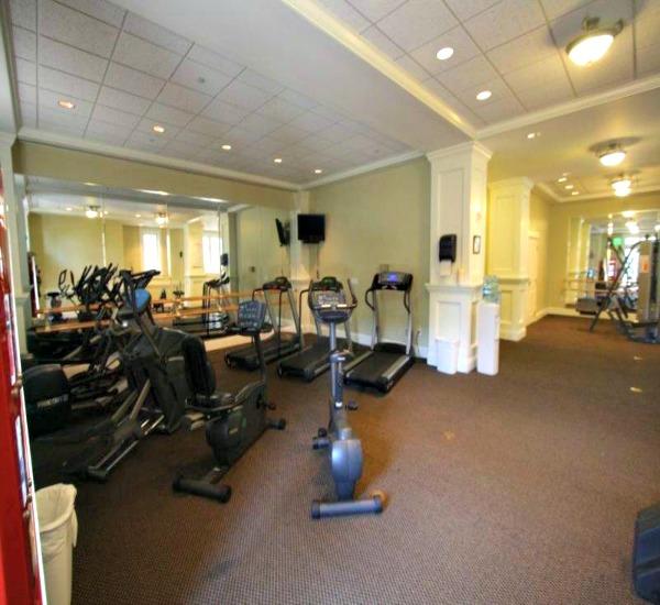 Fitness center at Bahia Resort in Destin FL