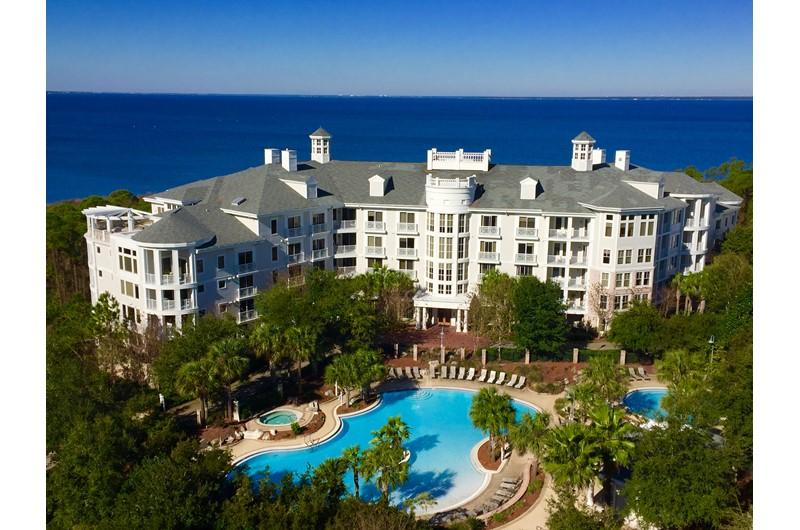 Lovely ariel view of Bahia in Sandestin Florida
