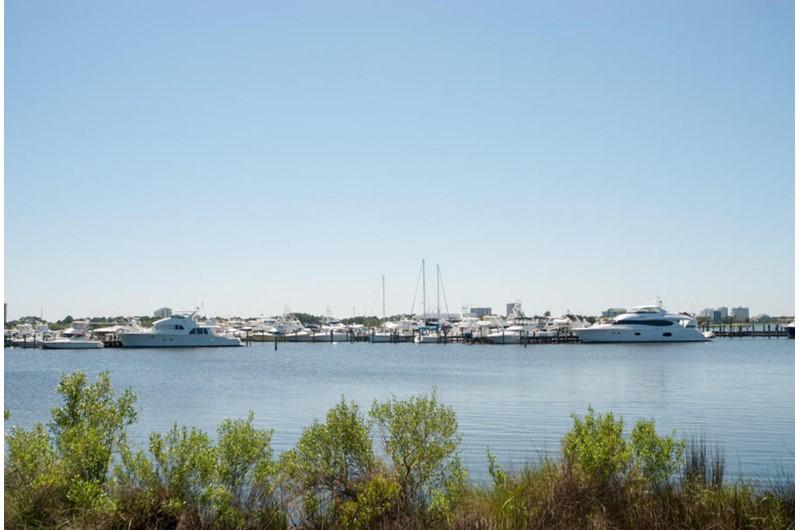 Great harbor view at Bahia in Destin Fl