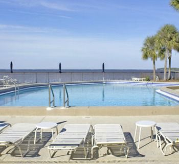The pool at the Bay Club of Sandestin in Destin Florida.