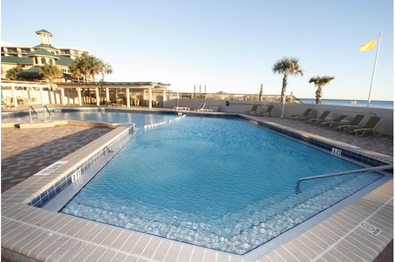 Enjoy the pool at Beachside Towers in Destin FL