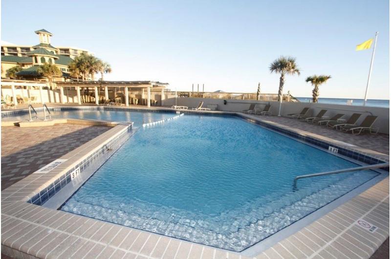 Enjoy the pool at Beachside Towers in Destin FL