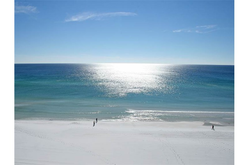 Direct view of the Gulf from Beachside Towers in Destin FL