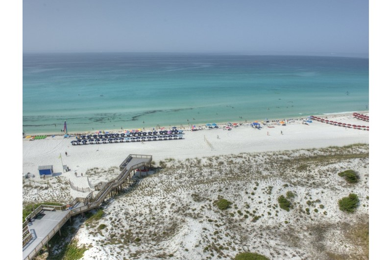 Big view from Beachside Towers in Destin FL